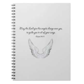 guardian angels spiral notebook