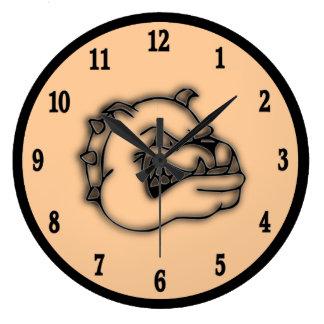 Guardian Bulldog Wall Clock
