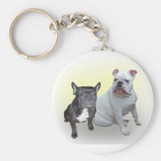 Guardian Bulldogs Basic Round Button Keychain
