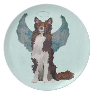 GUARDIAN COLLIE PLATE