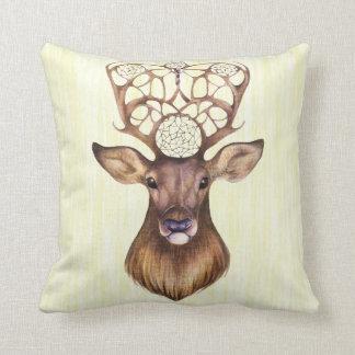 Guardian of dreams throw pillow