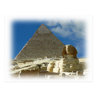 Guardian of Giza Postcard