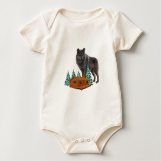 Guardian of Night Baby Bodysuit