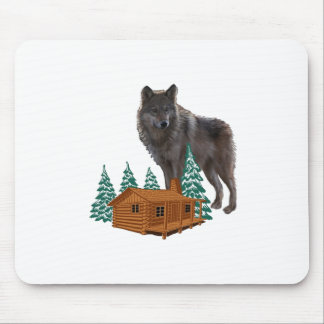 Guardian of Night Mouse Pad