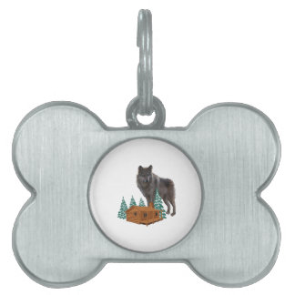 Guardian of Night Pet Name Tag