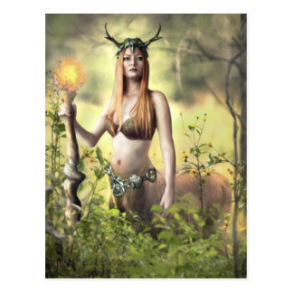 Guardian of the Forest - Postcard