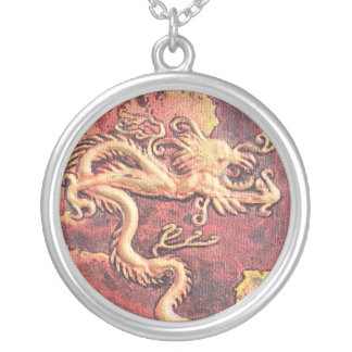 Guardian of the Treasure Silver Plated Necklace