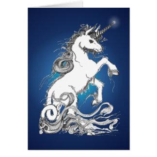 Guardian Unicorn Greeting Card