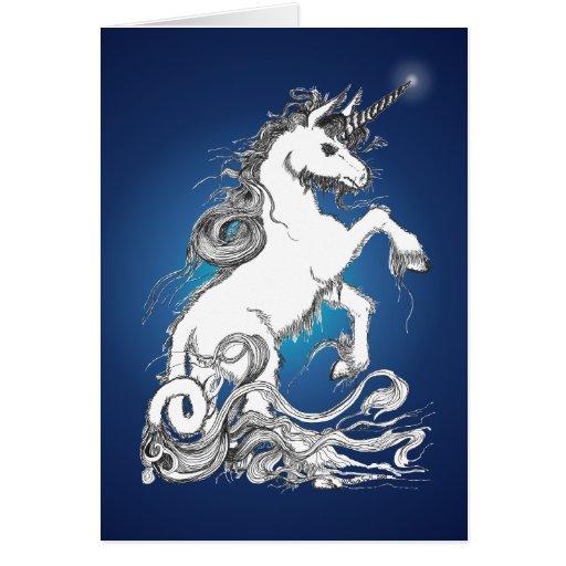 Guardian Unicorn Greeting Cards
