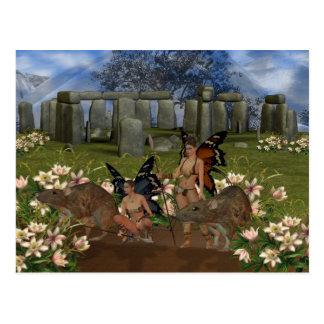 Guardians of Avalon, Stonehendge gateway Postcard