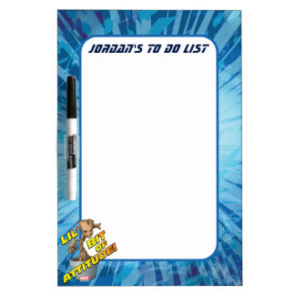 Guardians of the Galaxy | Baby Groot Attitude Dry Erase Board