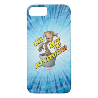 Guardians of the Galaxy | Baby Groot Attitude iPhone 8/7 Case