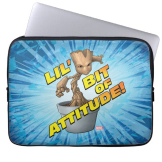 Guardians of the Galaxy | Baby Groot Attitude Laptop Sleeve