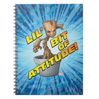 Guardians of the Galaxy | Baby Groot Attitude Notebooks