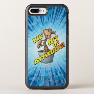 Guardians of the Galaxy | Baby Groot Attitude OtterBox Symmetry iPhone 8 Plus/7 Plus Case