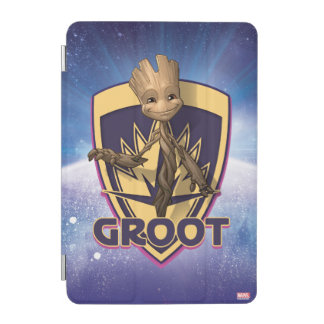 Guardians of the Galaxy | Baby Groot Crest iPad Mini Cover