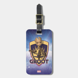 Guardians of the Galaxy | Baby Groot Crest Luggage Tag