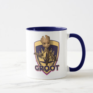 Guardians of the Galaxy   Baby Groot Crest Mug