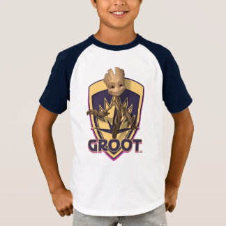 Guardians of the Galaxy | Baby Groot Crest T-Shirt