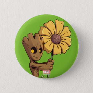 Guardians of the Galaxy   Baby Groot & Daisy 2 Inch Round Button