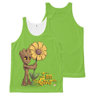 Guardians of the Galaxy | Baby Groot & Daisy All-Over-Print Tank Top