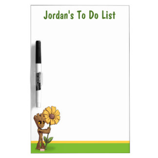 Guardians of the Galaxy | Baby Groot & Daisy Dry Erase Board