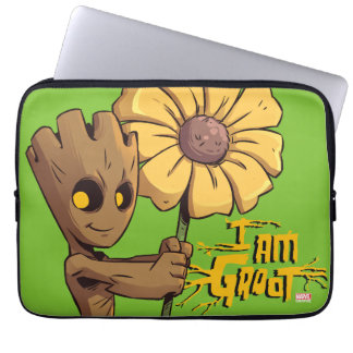 Guardians of the Galaxy | Baby Groot & Daisy Laptop Sleeve