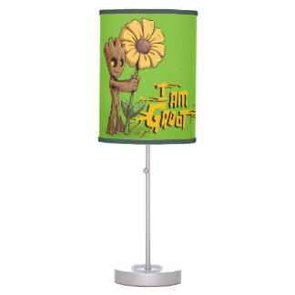 Guardians of the Galaxy | Baby Groot & Daisy Table Lamp