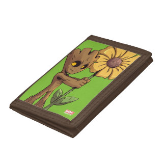 Guardians of the Galaxy | Baby Groot & Daisy Tri-fold Wallet