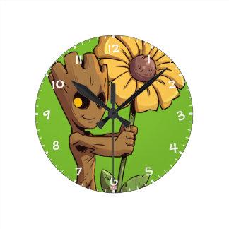 Guardians of the Galaxy | Baby Groot & Daisy Wall Clocks