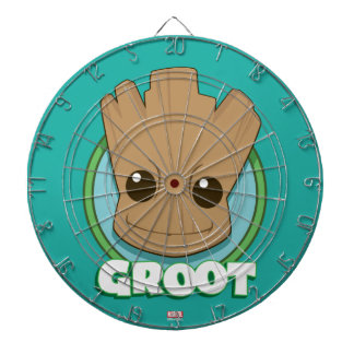 Guardians of the Galaxy | Baby Groot Face Dartboards