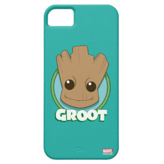 Guardians of the Galaxy | Baby Groot Face iPhone 5 Cases