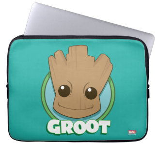 Guardians of the Galaxy | Baby Groot Face Laptop Sleeve