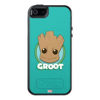 Guardians of the Galaxy | Baby Groot Face OtterBox iPhone 5/5s/SE Case