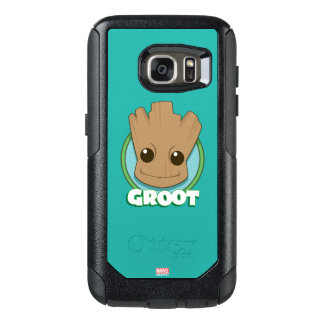 Guardians of the Galaxy | Baby Groot Face OtterBox Samsung Galaxy S7 Case