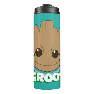 Guardians of the Galaxy | Baby Groot Face Thermal Tumbler