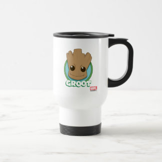 Guardians of the Galaxy | Baby Groot Face Travel Mug