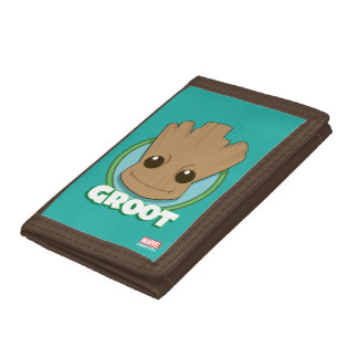 Guardians of the Galaxy | Baby Groot Face Trifold Wallet