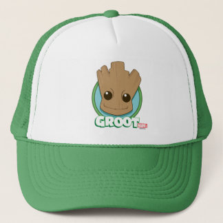 Guardians of the Galaxy | Baby Groot Face Trucker Hat