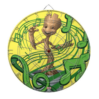 Guardians of the Galaxy | Baby Groot Music Notes Dartboard With Darts