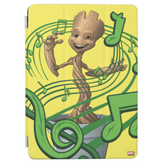 Guardians of the Galaxy | Baby Groot Music Notes iPad Air Cover