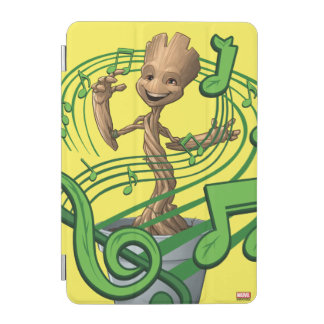 Guardians of the Galaxy | Baby Groot Music Notes iPad Mini Cover