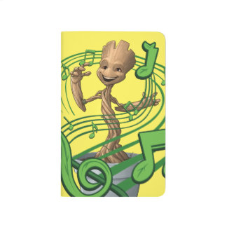 Guardians of the Galaxy   Baby Groot Music Notes Journal