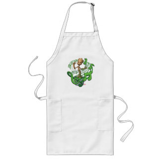 Guardians of the Galaxy | Baby Groot Music Notes Long Apron