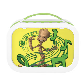 Guardians of the Galaxy | Baby Groot Music Notes Lunch Box