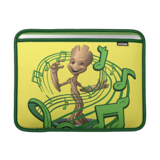 Guardians of the Galaxy | Baby Groot Music Notes MacBook Sleeve