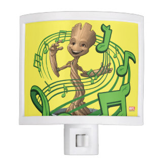 Guardians of the Galaxy   Baby Groot Music Notes Nite Light