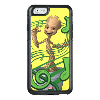 Guardians of the Galaxy | Baby Groot Music Notes OtterBox iPhone 6/6s Case