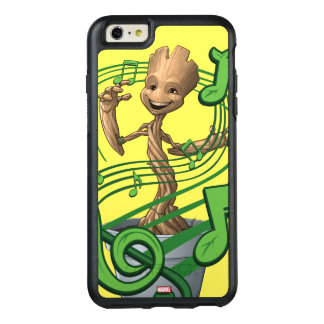 Guardians of the Galaxy | Baby Groot Music Notes OtterBox iPhone 6/6s Plus Case
