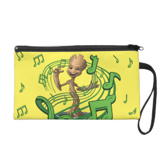 Guardians of the Galaxy | Baby Groot Music Notes Wristlet